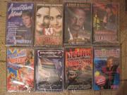 DVD, CD, аудиокассеты с записью