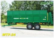 Машина для внесения органических удобрений МТУ-24