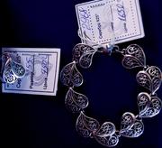 Продам комплект  женских  ювелирных украшений из серебра  925 пробы.