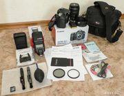 Фотоаппарат Canon 60D kit 17-85 состояние нового