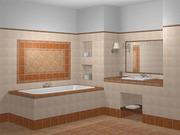 Облицовка кафелем стен,  пола,  печей,  кухни,  ванны,  лестницы. Отделка