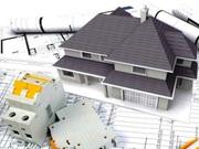 Однолинейная схема электроснабжения частного дома 1 фаза,  3 фазы.