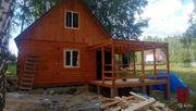 Строим деревянные бани из бруса. Кровельные работы Закладка фундамента