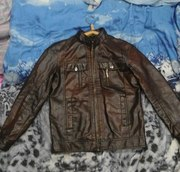 Куртка мужская кожаная (подростковая)