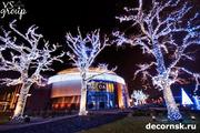 Новогоднее светодиодное украшение Деревьев в Новосибирске