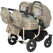 Детская коляска для двойни 2в1 Tako Jumper Duo