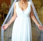 Красивое свадебное платье из салона Вивальди